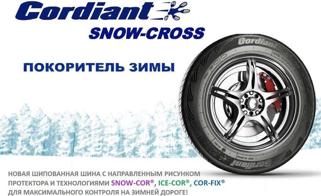 Cordiant Snow Cross