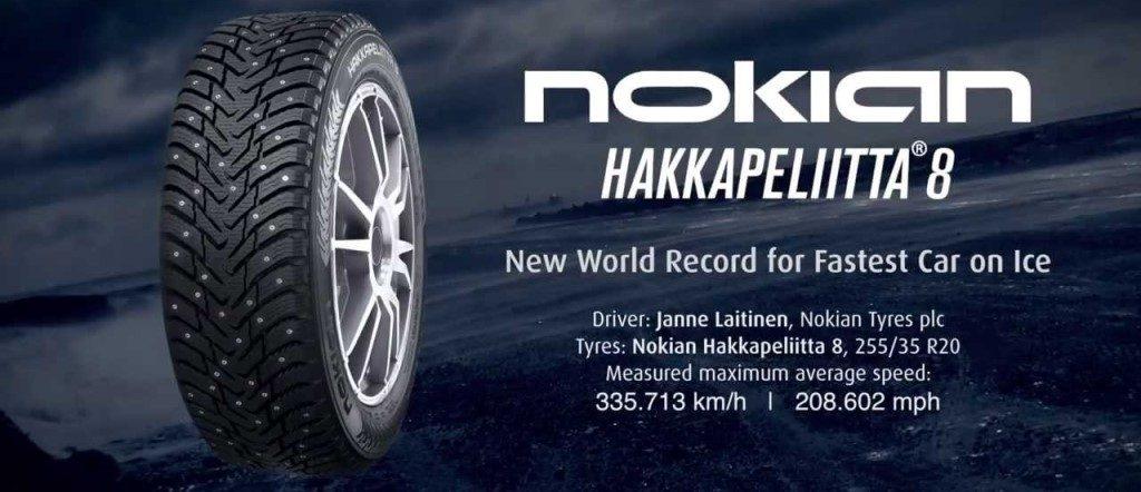 Nokian Hakkapeliitta 8