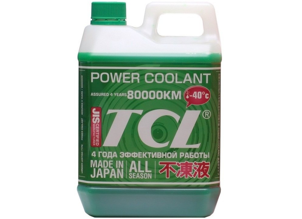 TCL Power Coolant Green -40 2L