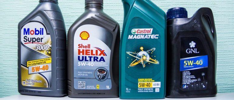 Какое моторное масло лучше?