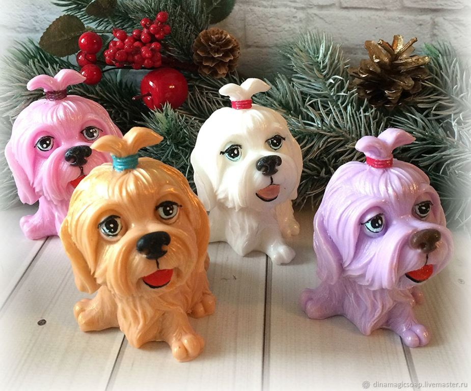 Собачки- символы года