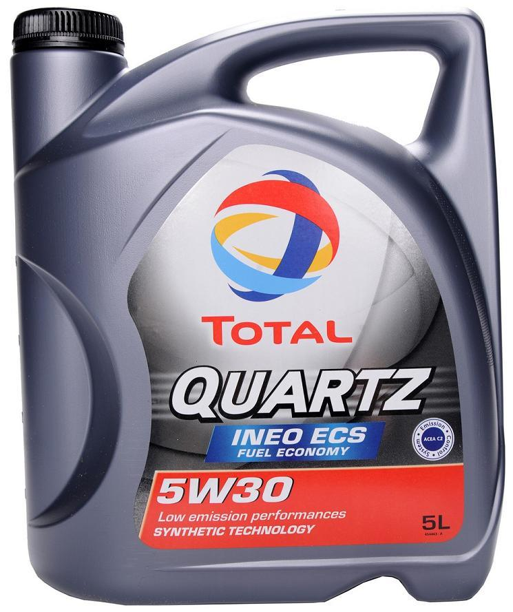 TOTAL Quartz INEO ECS 5W30 4 л