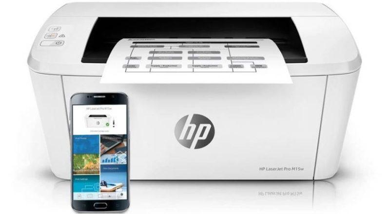 HP LaserJet Pro M15w фото