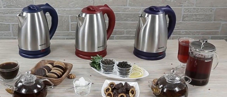 ТОП-10   лучших электрических чайников 2020 года