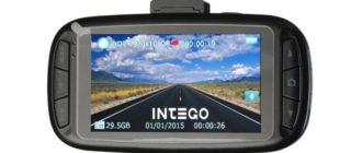 Видеорегистратор Intego VX-775 HD фото