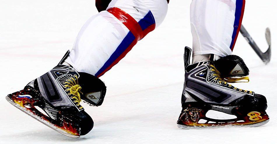 Выбираем лучшие хоккейные коньки