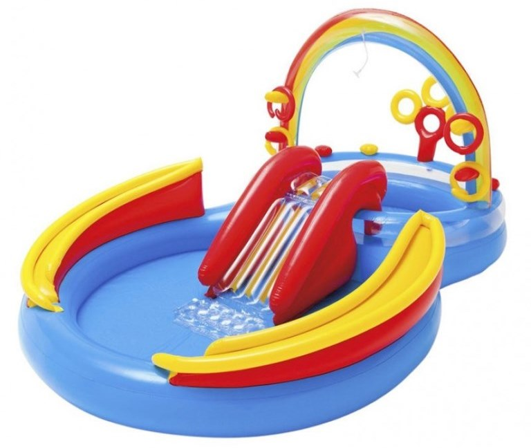Intex Rainbow Ring Play Center 57453 фото