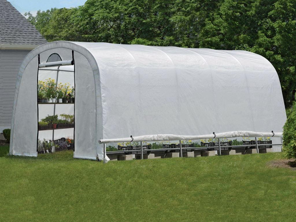 Теплица ShelterLogic в коробке (круглая крыша) 240х300 см