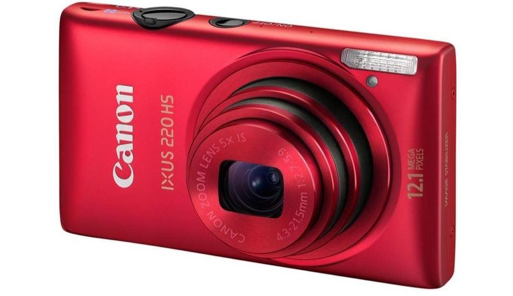 Canon Digital IXUS 220 HS фото
