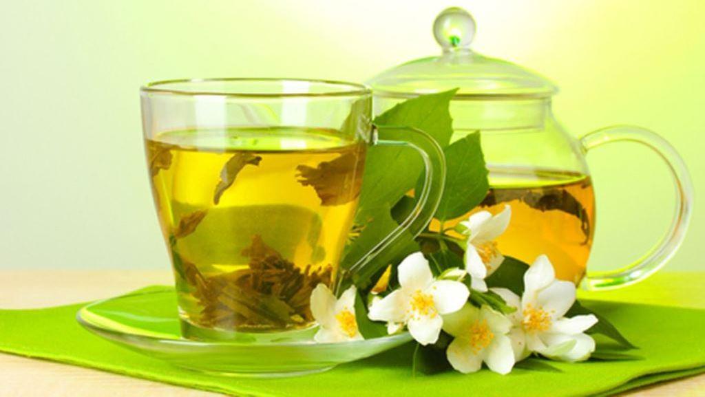 Зеленый чай фото