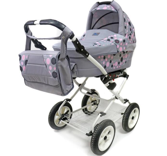 Коляска для новорожденных Teddy Angelina Lite PKL