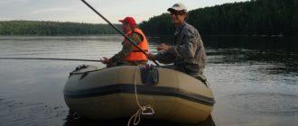 Выбираем лодку надувную для рыбалки