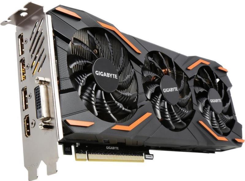 Gigabyte GeForce GTX 1080 фото