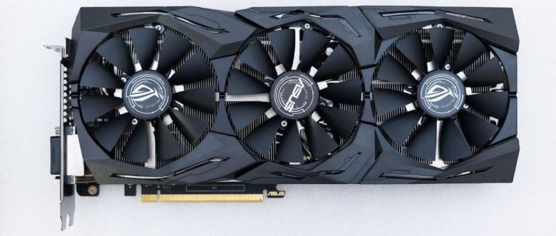 ROG Strix GeForce GTX 1060 фото