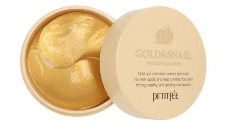 Petitfree Gold & Snail Hydrogel Eye Patch фото