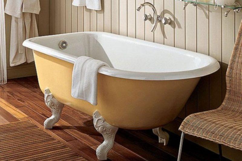 Valitse valurautainen kylpyamme