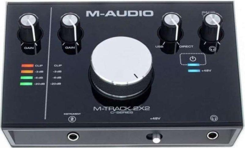 M-Audio M-Track 2x2 фото