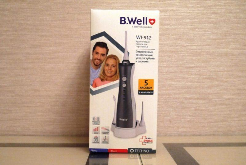 B-Well-WI-912 коробка