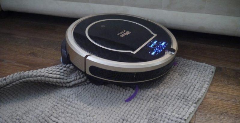 Работа робота пылесоса iPlus x600pro PetSeries