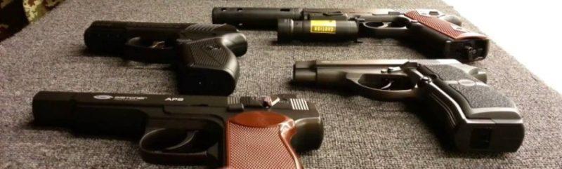 Выбираем правильный пистолет пневматический