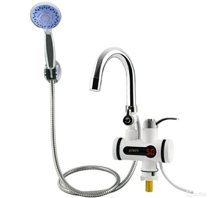Instant Electric Heating Water Faucet & Shower фото