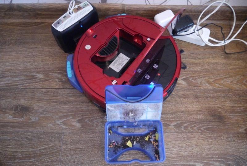 Как убрался робот пылесос в квартире cleverPANDA i5