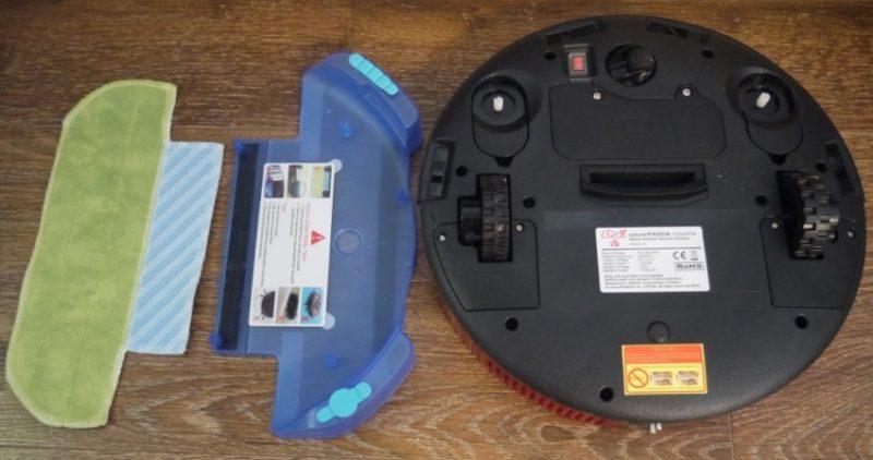 Влажная уборка- компоненты робота пылесоса