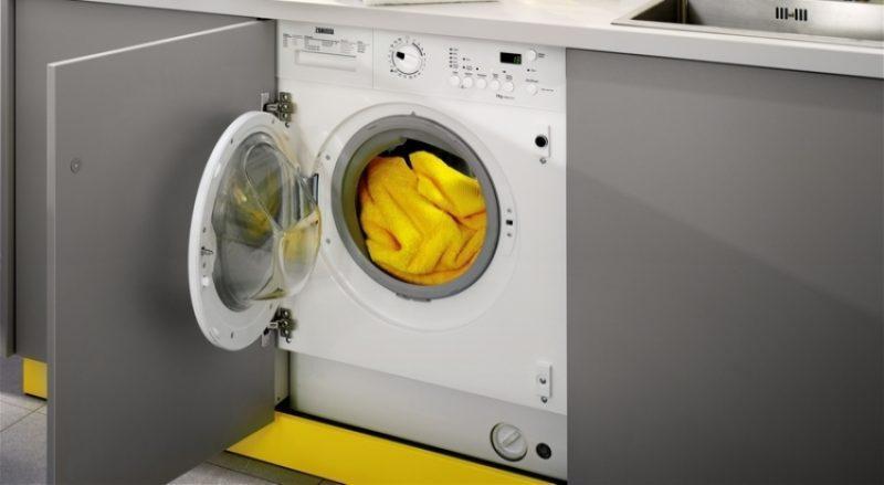 Выбираем встраиваемую стиральную машину с сушкой