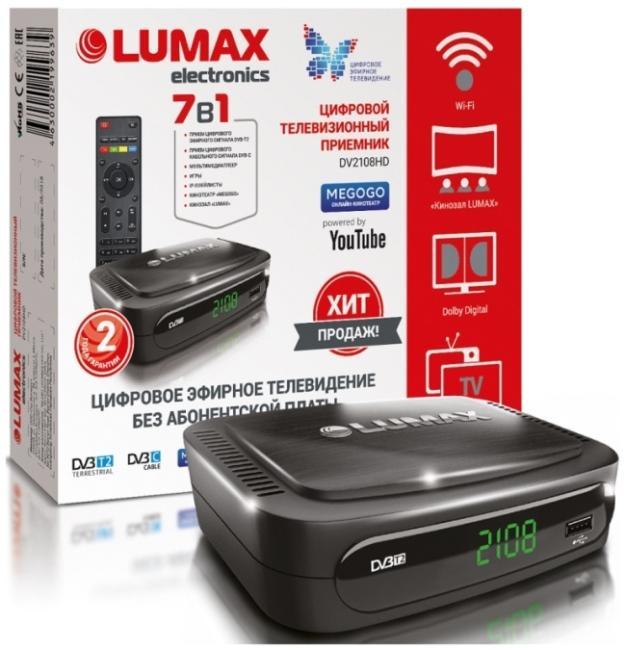 LUMAX DV-2108HD фото