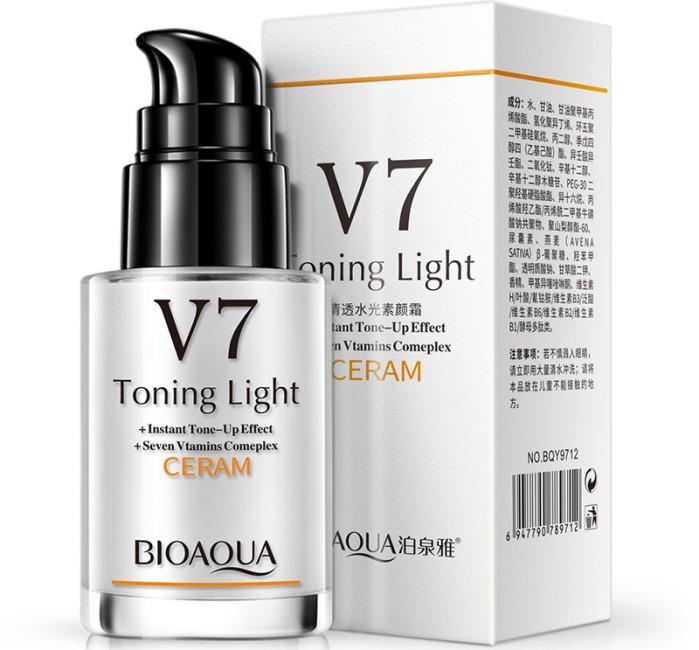 BioAqua V7 Toning Light CERAM фото