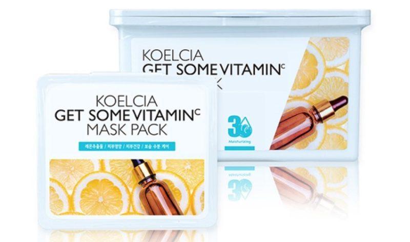 KOELCIA тканевая маска Get Some Mask Pack с витамином С фото