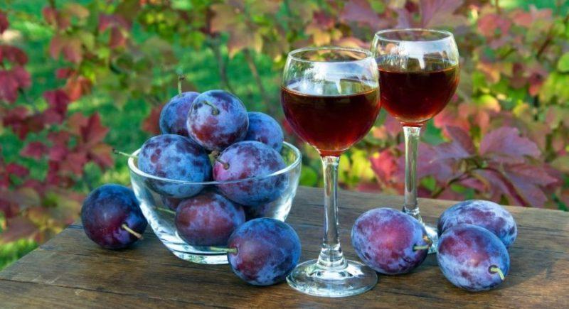 Сливовое вино фото