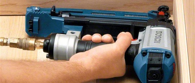Самый хороший пистолет для забивания гвоздей