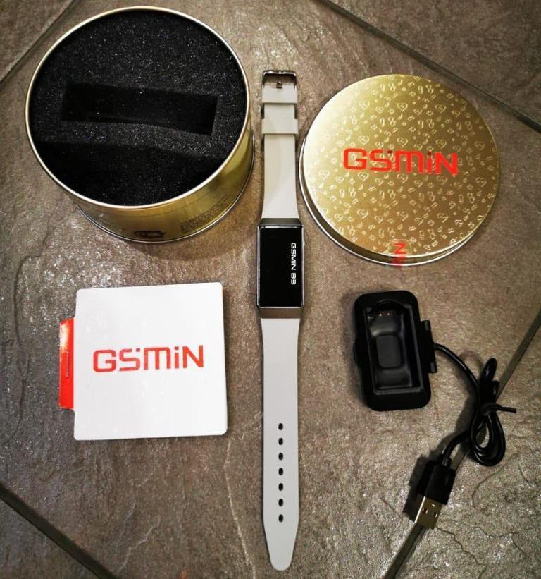 Что в комплекте вместе с GSMIN B3