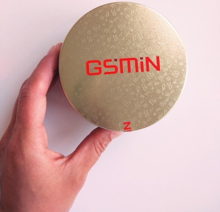 Размер коробки GSMIN B3 и рука