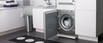 Выбираем самую хорошую встраиваемую стиральную машину