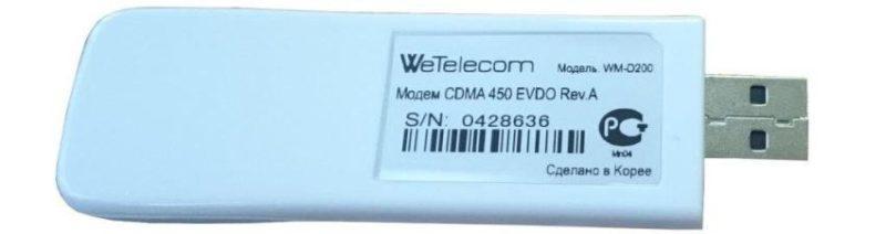 WeTelecom CDMA 3G USB модем WM-D200A фото