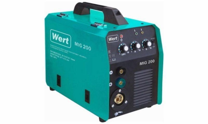 Wert MIG 200 фото
