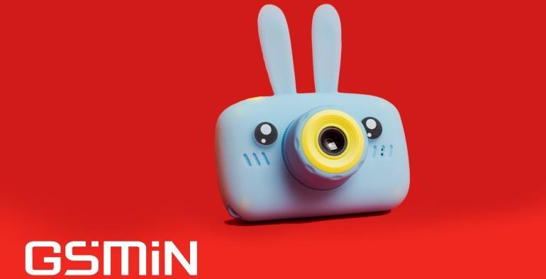 Gsmin Fun Camera голубого цвета