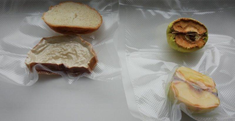 Хлеб и яблоко