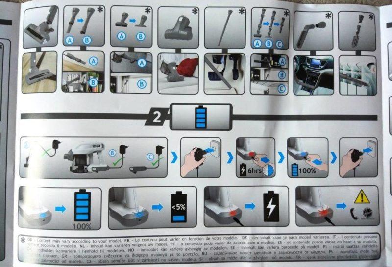 Инструкция по сборке Hoover H-Free