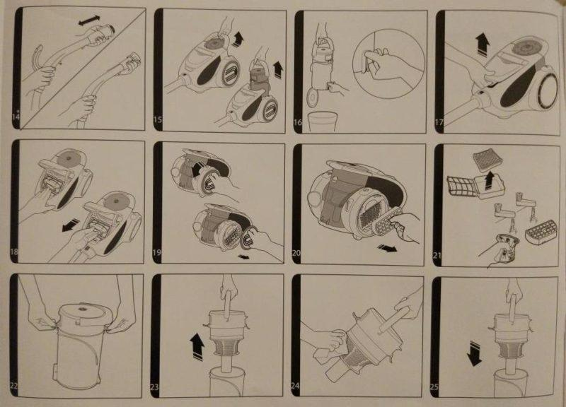 Hoover Xarion PRO-инструкция 3 лист, быстрый старт