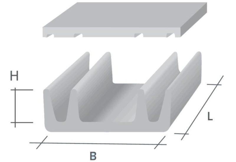 Вентиляционные гипсобетонные блоки фото