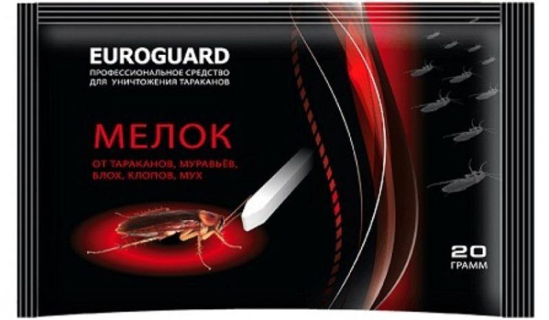 Eurogard Мелок инсектицидный от тараканов