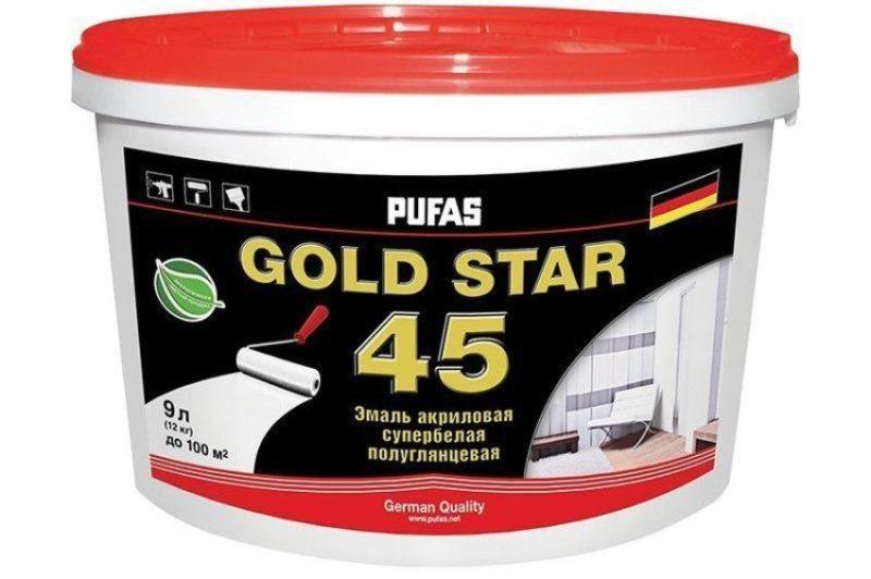 Pufas Gold Star 45 Акриловая фото
