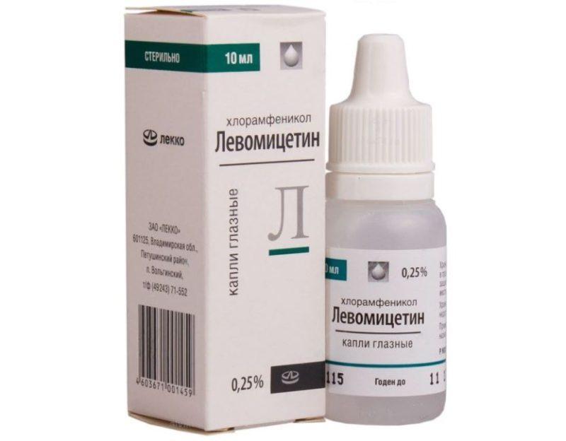 Левомицетин фото