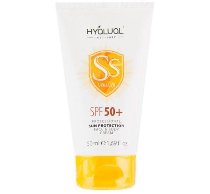 Hyalual Солнцезащитный крем для лица и тела SPF 50