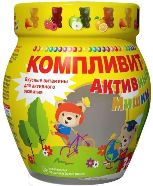 Компливит АКТИВные мишки фото