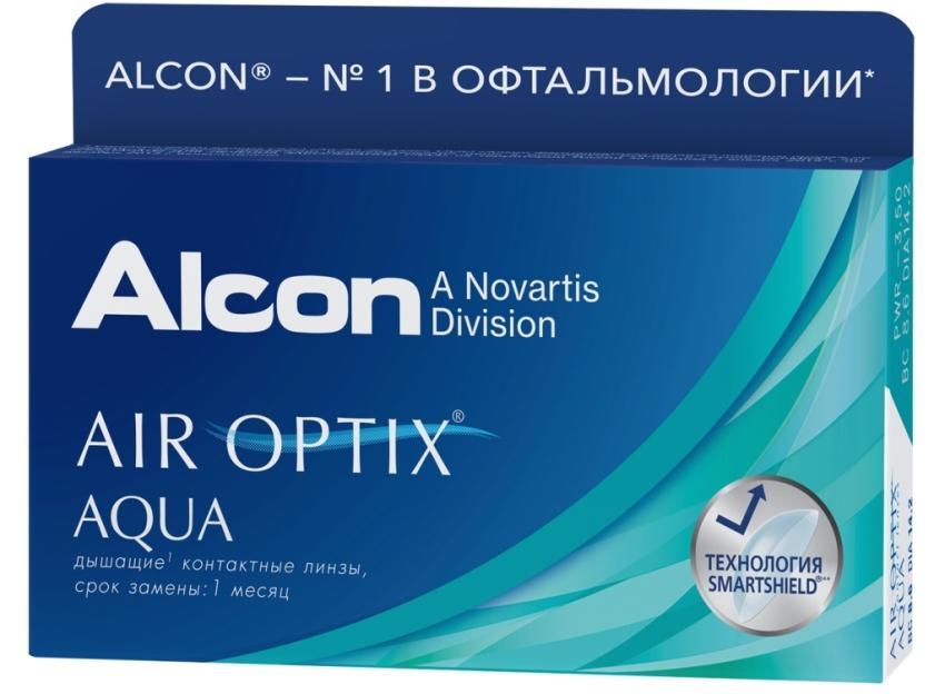 Air Optix (Alcon) Aqua фото