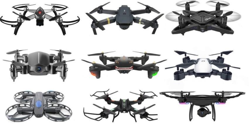 Разновидности дронов с камерой